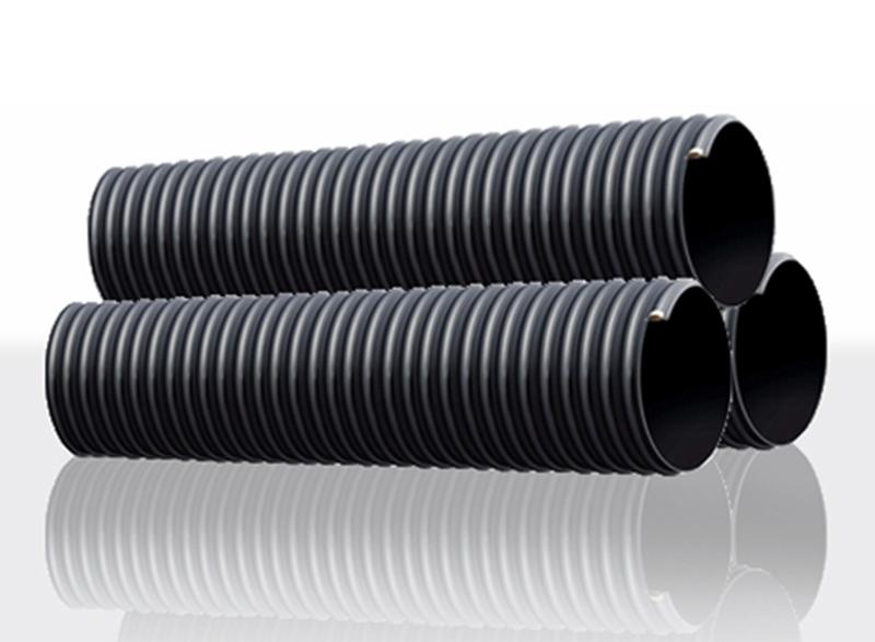 HDPE 钢带增强聚乙烯螺旋波纹管